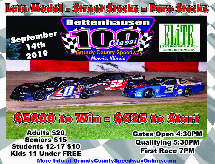 Official Website Grundy County Speedway - Morris, Illinois